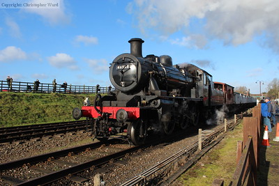 The Ivatt 2MT gets to grips with the mineral working