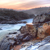 Great Falls Park, VA at Sunrise