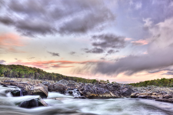 Great Falls Sunset Clouds