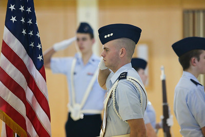 Michigan Wing Cadets from 7 squadrons at the 2018 Michigan Wing Cadet Competition held in the Charter Twp of Clinton, MI. Photos by Maj Robert Bowden, Civil Air Patrol