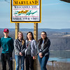 Cadets from Ohio Wing, Civil Air Patrol, stop to check out the sites on their way to Washington D.C., for Civil Air Patrol National Legislative Day.