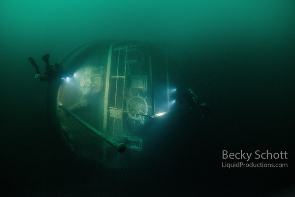 Stern of the SS Kamloops