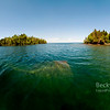 Pano of the America in Isle Royale National Park