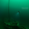 Petre II in 170ft - Lake Ontario