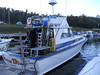 The Lake Superior Diver; our home, method of travel, and entertainment dive vessel for 5 days (actually becoming 6 days:) ran by Captain Ryan with Isle Royale Charters. Good times!