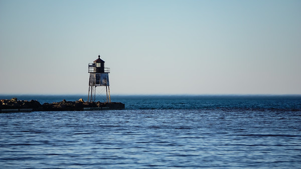 Ontonagon Pier Light