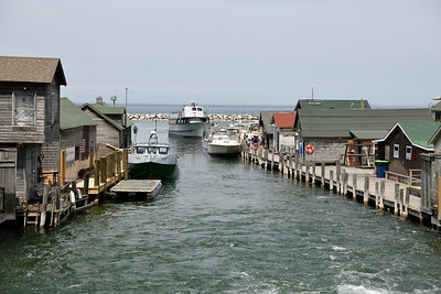 Historic Fishtown on Lake Michigan
