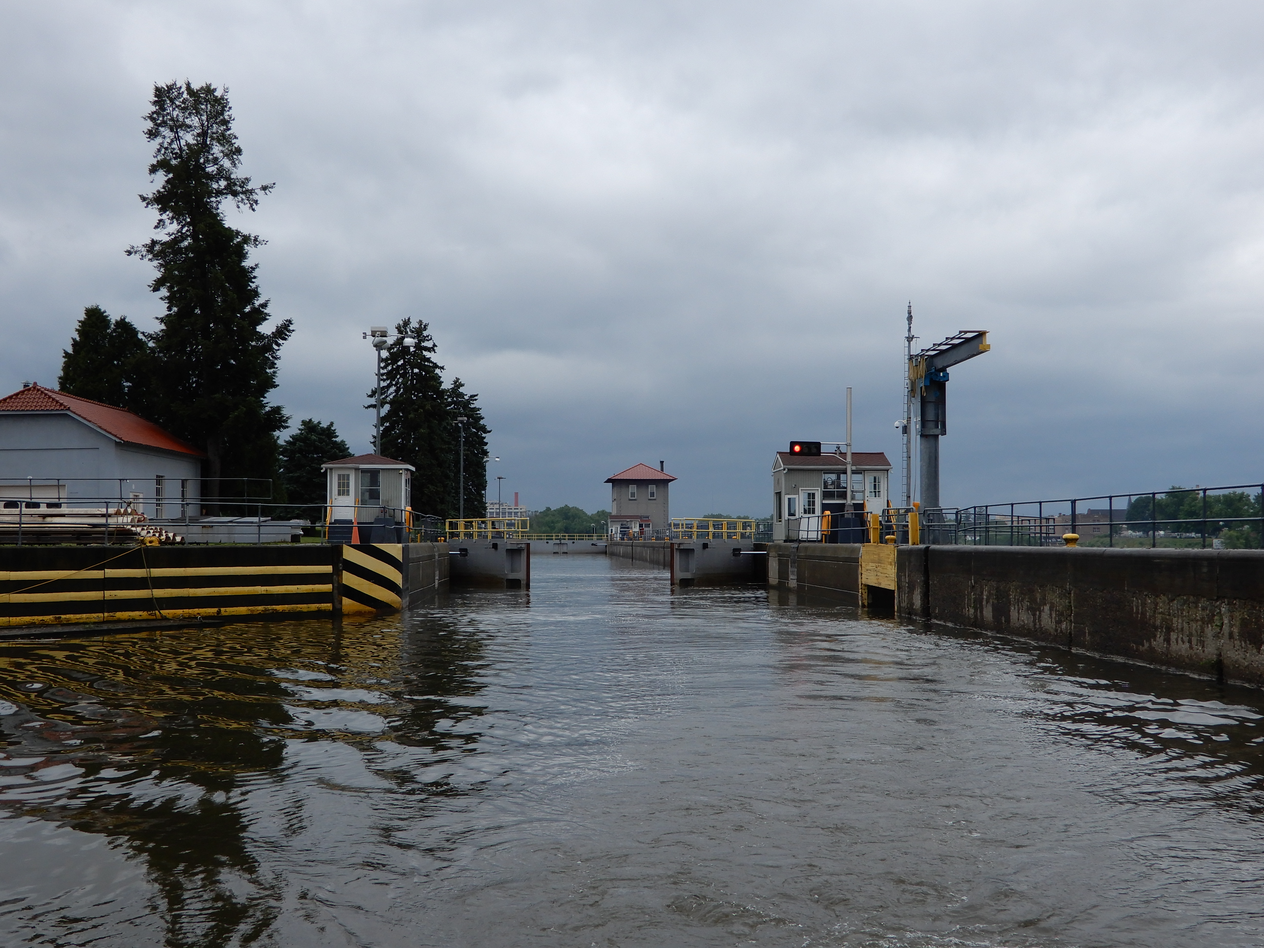 Looking back at the lock