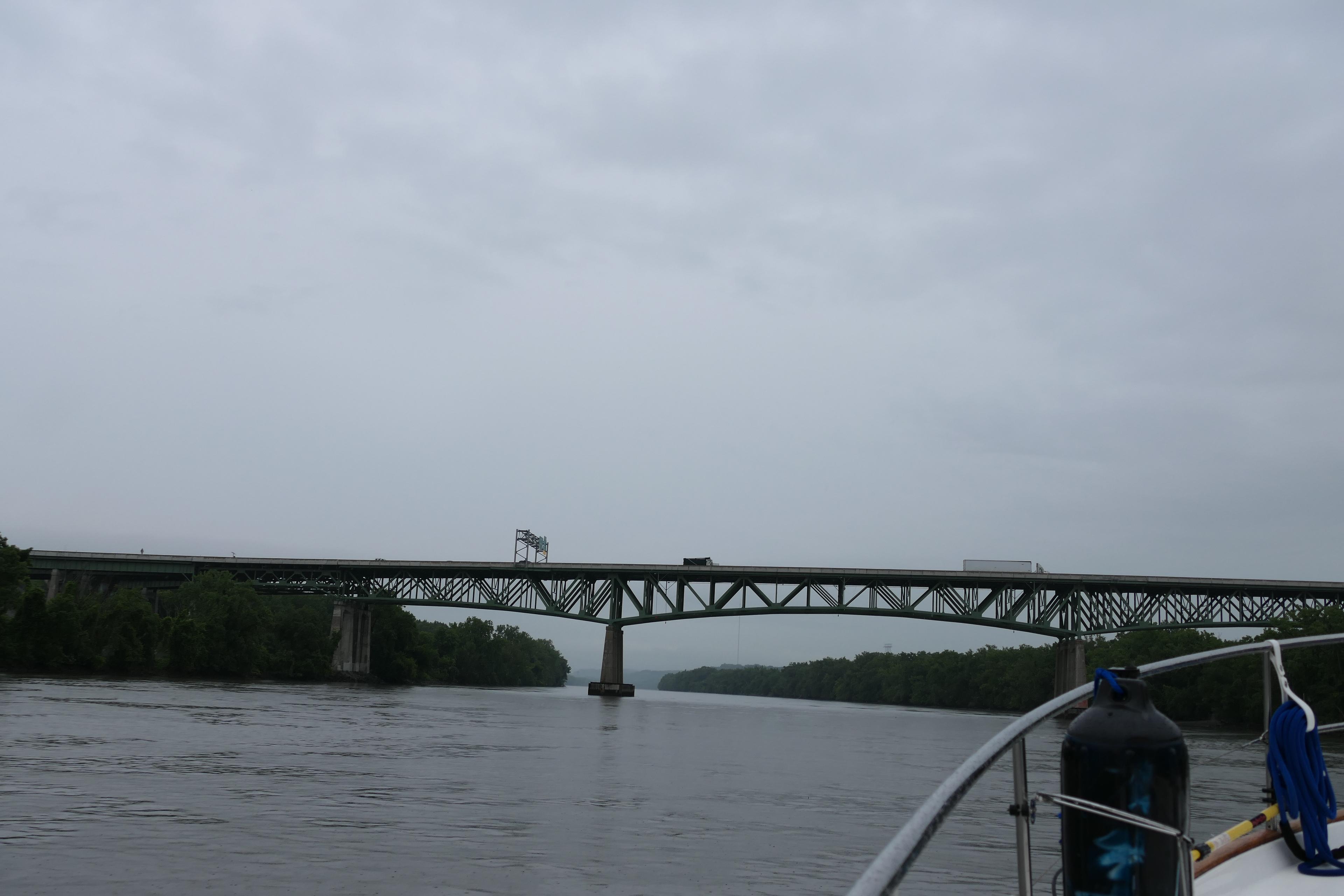 Leaving Albany, rain ahead!