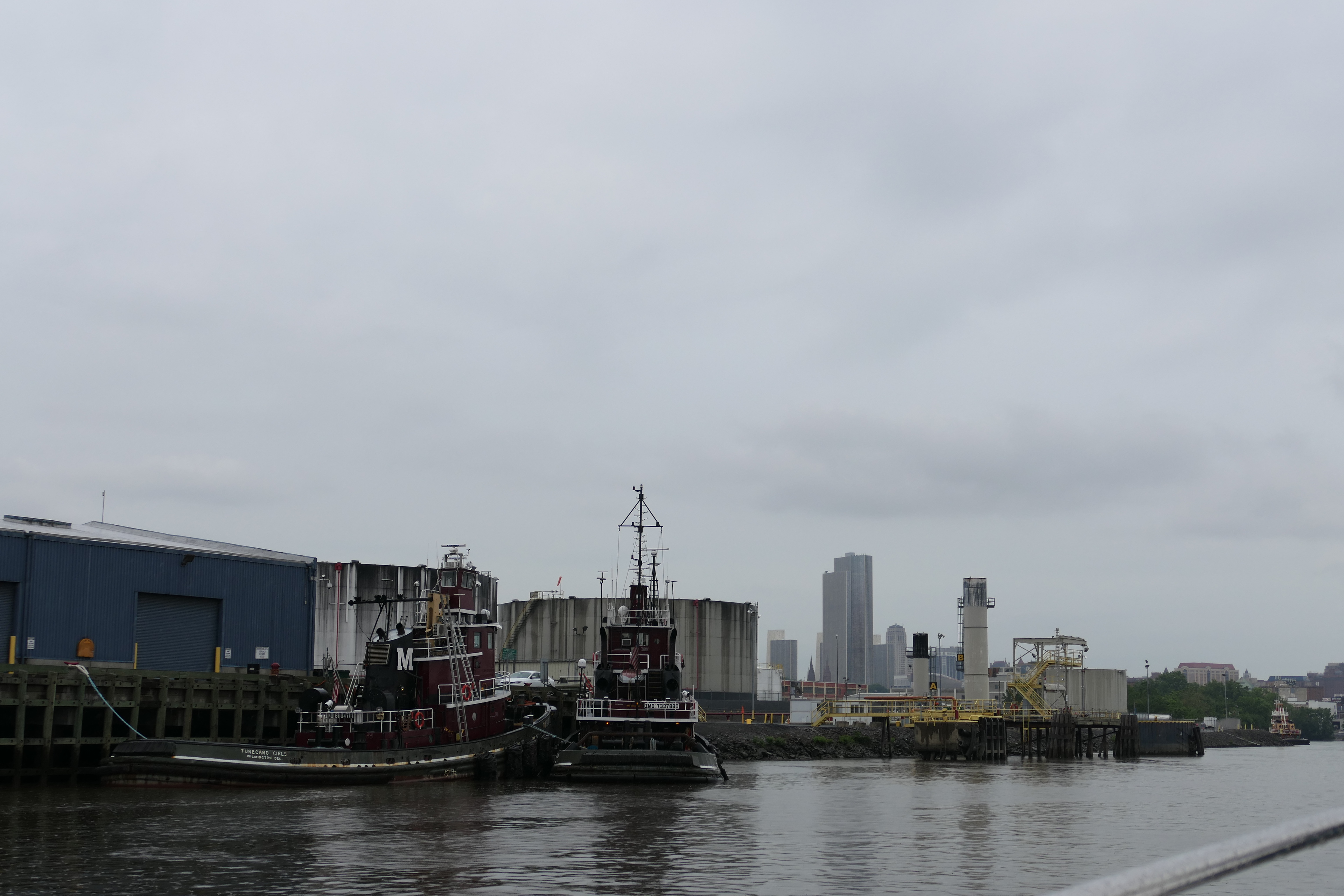 Industrial waterfront