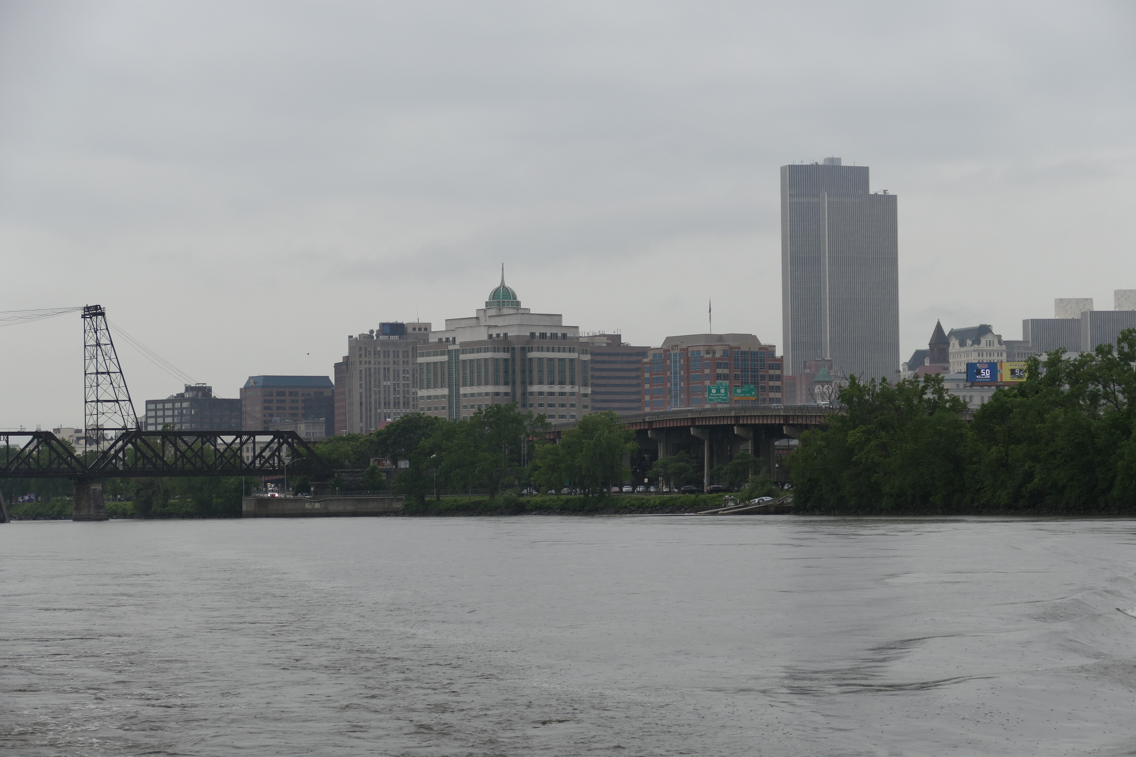 Another view of Albany