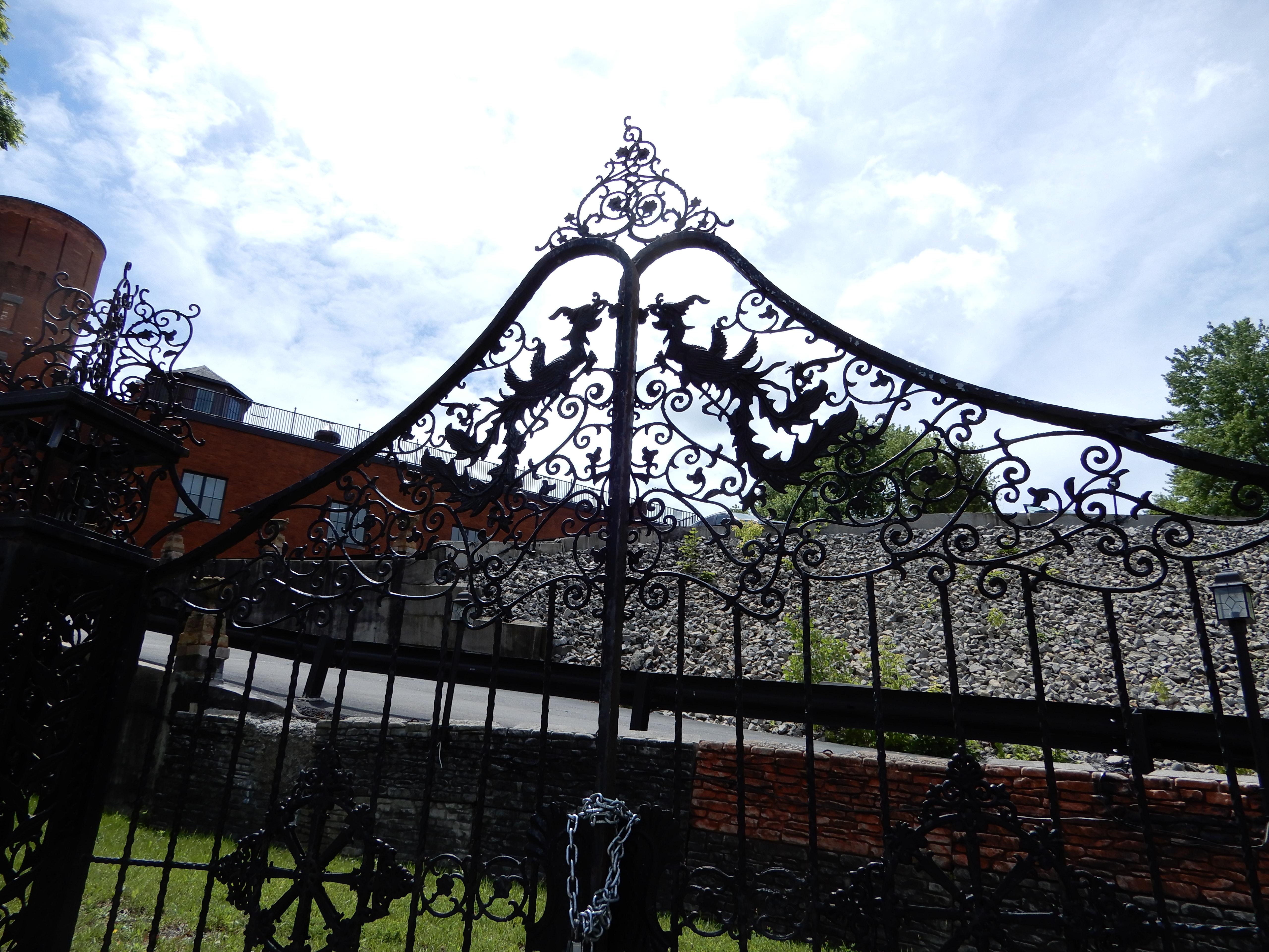 Fancy Ironwork Gates