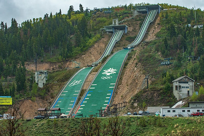 Where they practice for the summer olympics in Utah