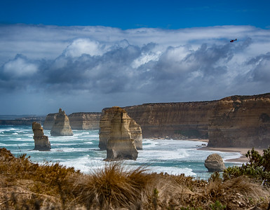 The Twelve (8) Apostles,  Great Ocean Road, in Victoria, Australia