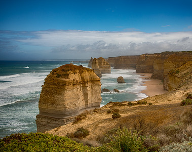 The Twelve Apostles,  Great Ocean Road, in Victoria, Australia