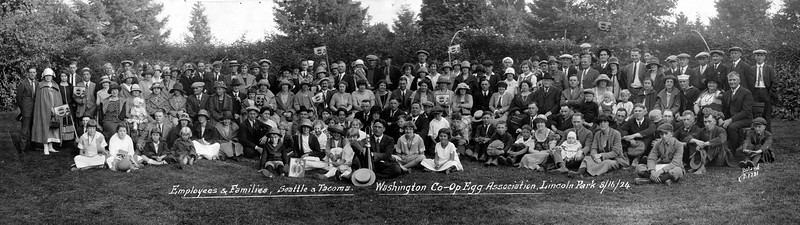 Washington Egg Co-Op @Seattle Lincoln Park 1924
