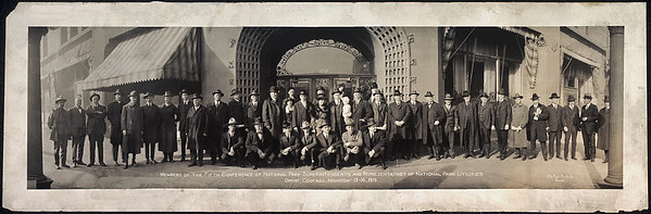 National Park Superintendents 1919