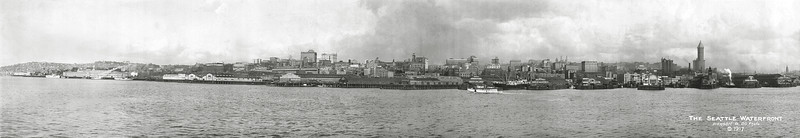 Seattle Waterfront 1917