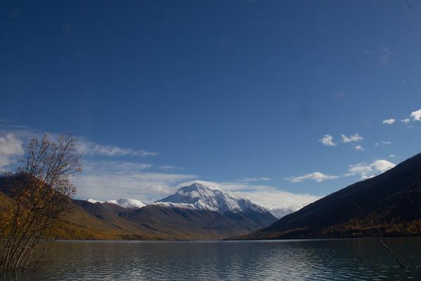 Elkutna Lake.