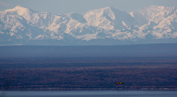 Denali, from 200 miles.