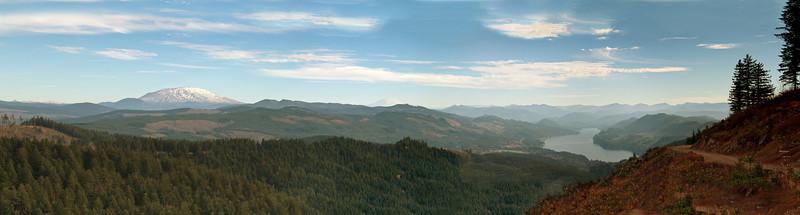 St. Helens, Adams, Lake Merwin