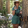 You can tell it is still the first day on the trail, since Patti is still nursing her last chance at Diet Pepsi for a while. Once empty, it became a water bottle.<br /> <br /> Day 1 - Tuolumne Meadows Lodge to Vogelsang camp.<br /> <br /> Lorrie Scott photo