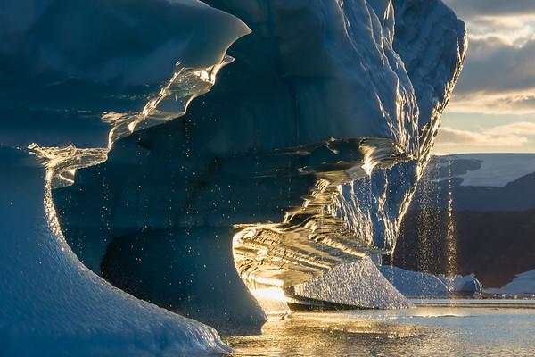 A Golden Iceberg