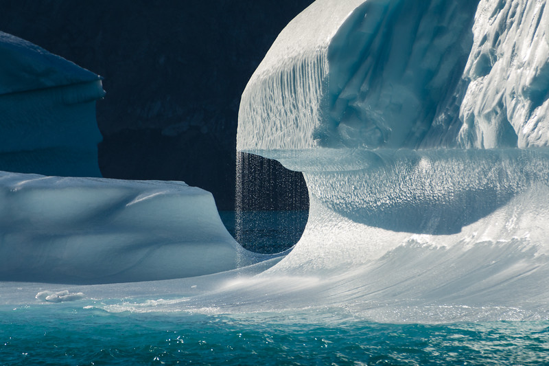 Iceberg Waterfall