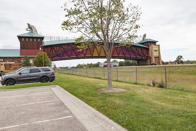 The Great Platte River Road Archway Monument Kearney Nebraska Highway I-80