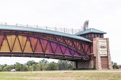 The, great, Platte River, Road, Archway, Monument, Highway I-80 Kearney, Nebraska