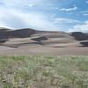 Grass, Dunes, Sky