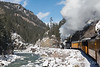 Steaming Along the Animas River - San Juan National Forest, Cascade Canyon, Colorado - Mark Gromko - December 2013