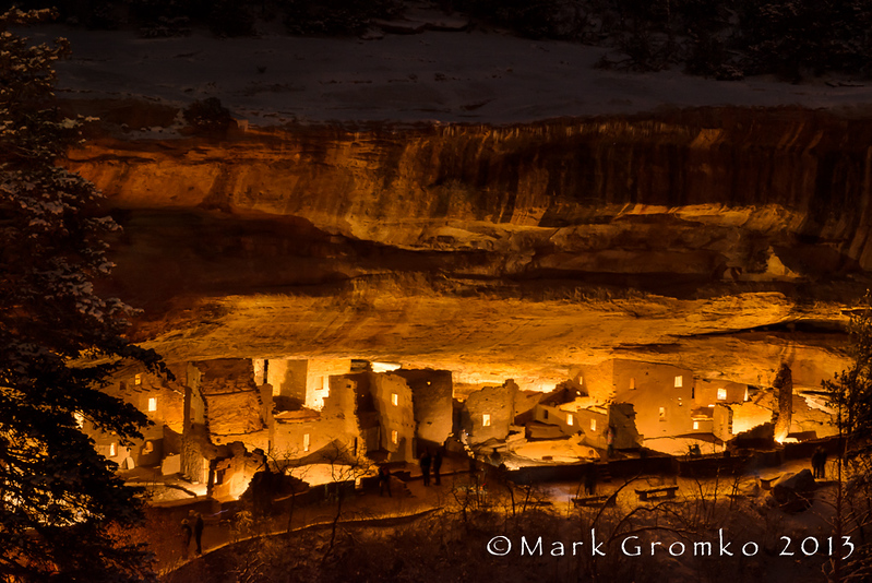 Lantern Light - Mesa Verde National Park, Colorado - Mark Gromko - December 2013