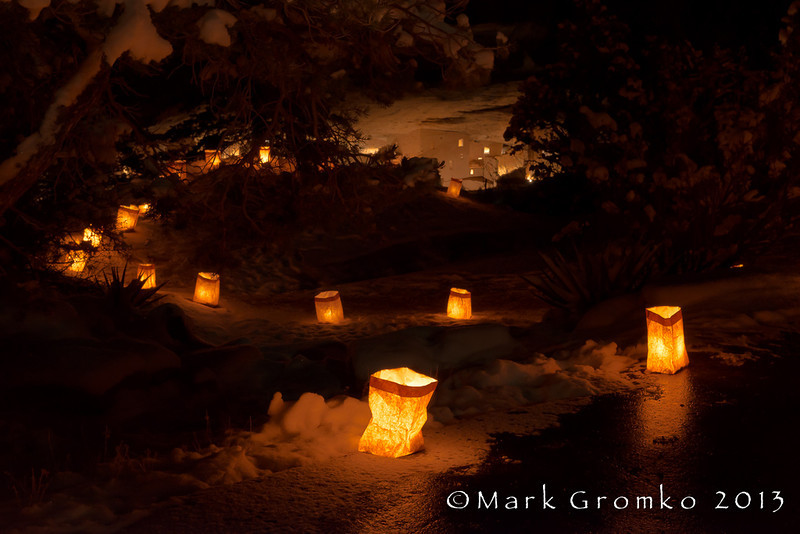 Luminaries - Mesa Verde National Park, Colorado - Mark Gromko - December 2013