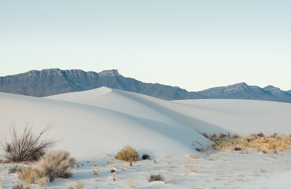 A chilly morning on the dunes.  I wandered for nearly two miles to find a location that had the lines I was looking for.