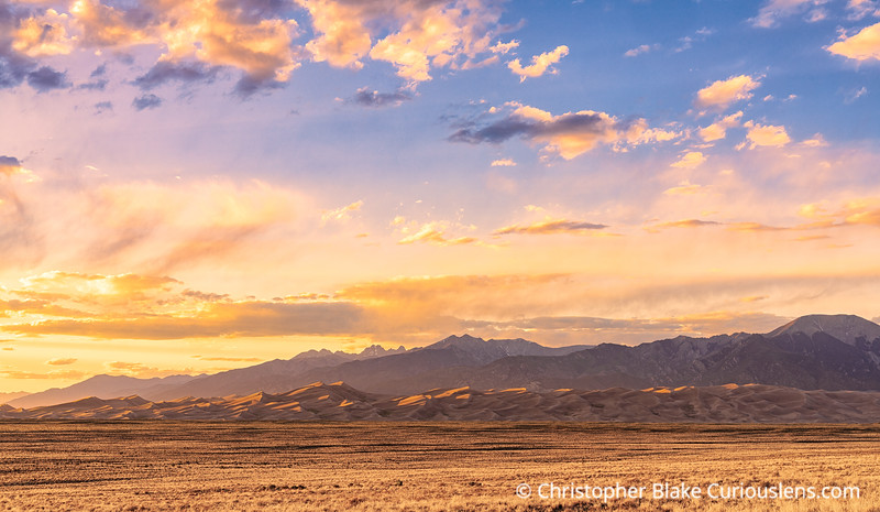 Great Sand Dunes and Mountains