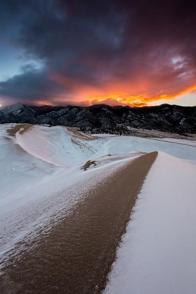 Sunrise, Great Sand Dunes Nat'l Park, CO