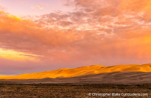 Sunrise Great Sand Dunes