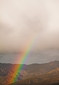Rainbow to the Clouds