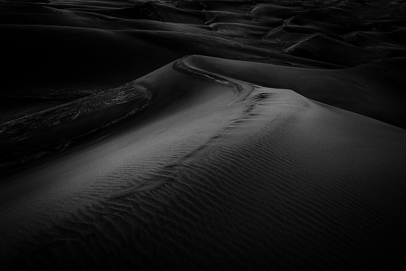First Light on the Great Sand Dunes