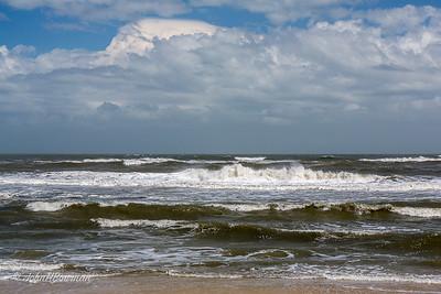 Atlantic Ocean at Milepost 46, US 12, Outer Banks