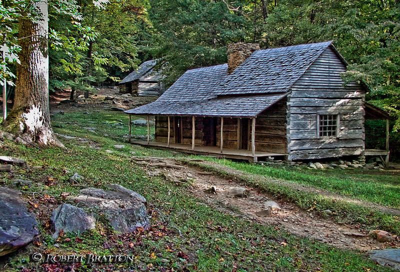 Bud Ogle Cabin, Roaring Fork