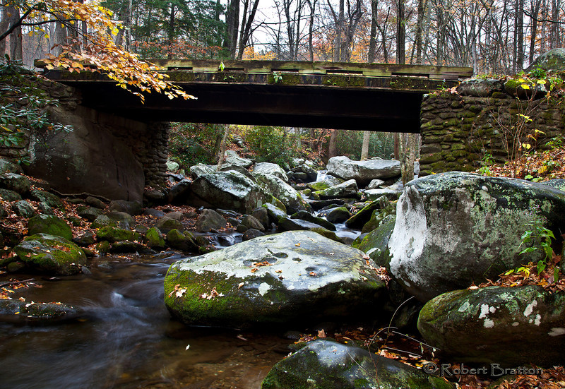 Bridge on Roaring Fork Road