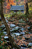 Log Cabin by Roaring Fork Stream