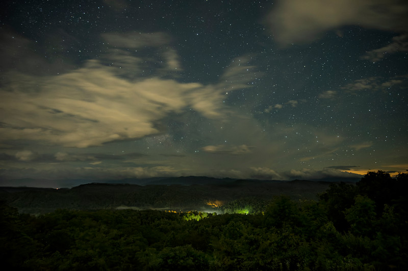 Great Smoky Mountains National Park Under the Stars