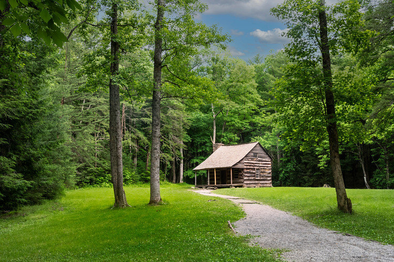 Old Homestead in Cades Cove