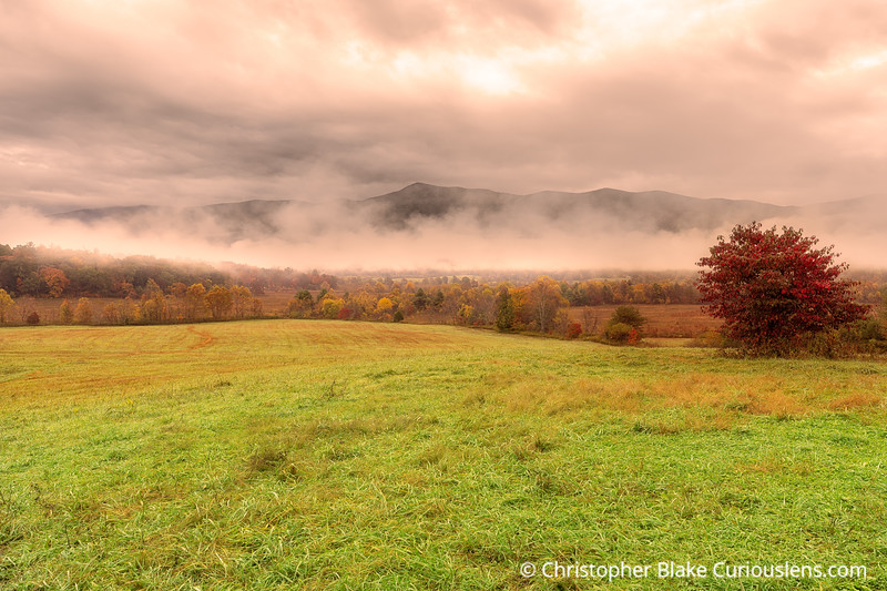Clearning Clouds - Cades Cove