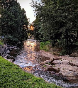 Sunset on the Riverwalk