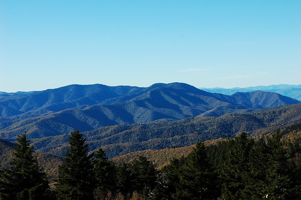 Mount Sterling and Balsam Mountain Ridges (10/2009)