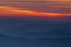 Smokies Sunset from Clingman's Dome - Great Smoky Mountains National Park - Doug Beezley - April 2011